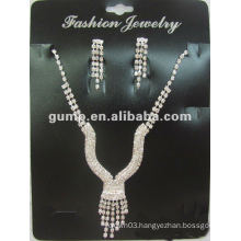 Latest bridal wedding jewelry set (GWJ12-516B)