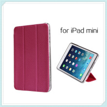 Hot TPU Metal Leather Case for iPad Mini