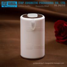 ZB-PU30 30ml bonne apparence couleur personnalisable court et délicat flacon 30ml airless cosmétique