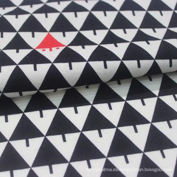 Tela de franela estampada 100% algodón para ropa o sábana