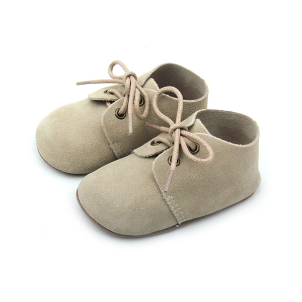 2016 New Style Unisex Real Leather Baby Oxford Shoes