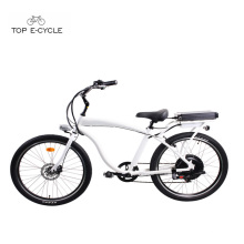 Hommes en aluminium cadre chopper vélo plage cruiser vélo / vélo électrique vélo