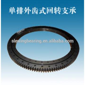WANDA Double Row Ball Bearing External Gear for the construction equipment