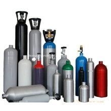 Chine produit un cylindre à gaz en oxyde sans soudure en acier