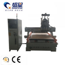 High Quality Model 4 Spindle Wood Cnc Router