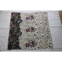 Impresión floral de la bufanda al por mayor de las lanas