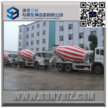 DFAC Dalishen CUMMINS Motor 9 M3 Beton Mixer Truck