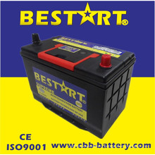 12V80ah Premium Quality Bestart Mf Vehicle Battery JIS 95D31L-Mf