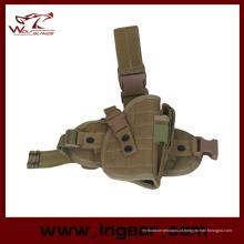 Nylon 600D tático gota coldre de perna para M92 94 pistola coldre