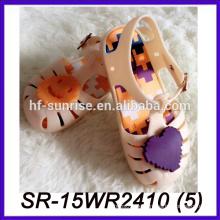 Melissa Styles Kinder Schuh für Mädchen Kunststoff transparente Sandalen transparente Schuhe