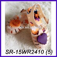 melissa styles kid shoe for girls plastic transparent sandals transparent shoes