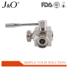 Hot Sale Sanitary 3 Way Male Ball Valve