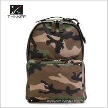 High Quality With Leather Strap Camo Backpack