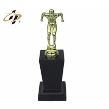 customize made metal funny design singing trophy