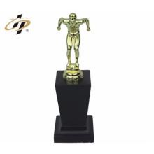 customize made metal funny design singing trophy
