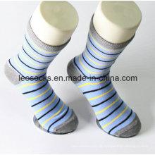Benutzerdefinierte Baumwolle Herren Kleid Socken hohe Qualität