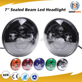 "7"" Jeep car accessories Jeep wrangelr led headlight high low beam jeep jk led headlights"
