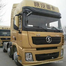 China SHACMAN truck F2000 F3000 H3000 X3000 tractor trailer towing truck head 40 60 80 100 ton 6 8 10 wheel tires Africa Market
