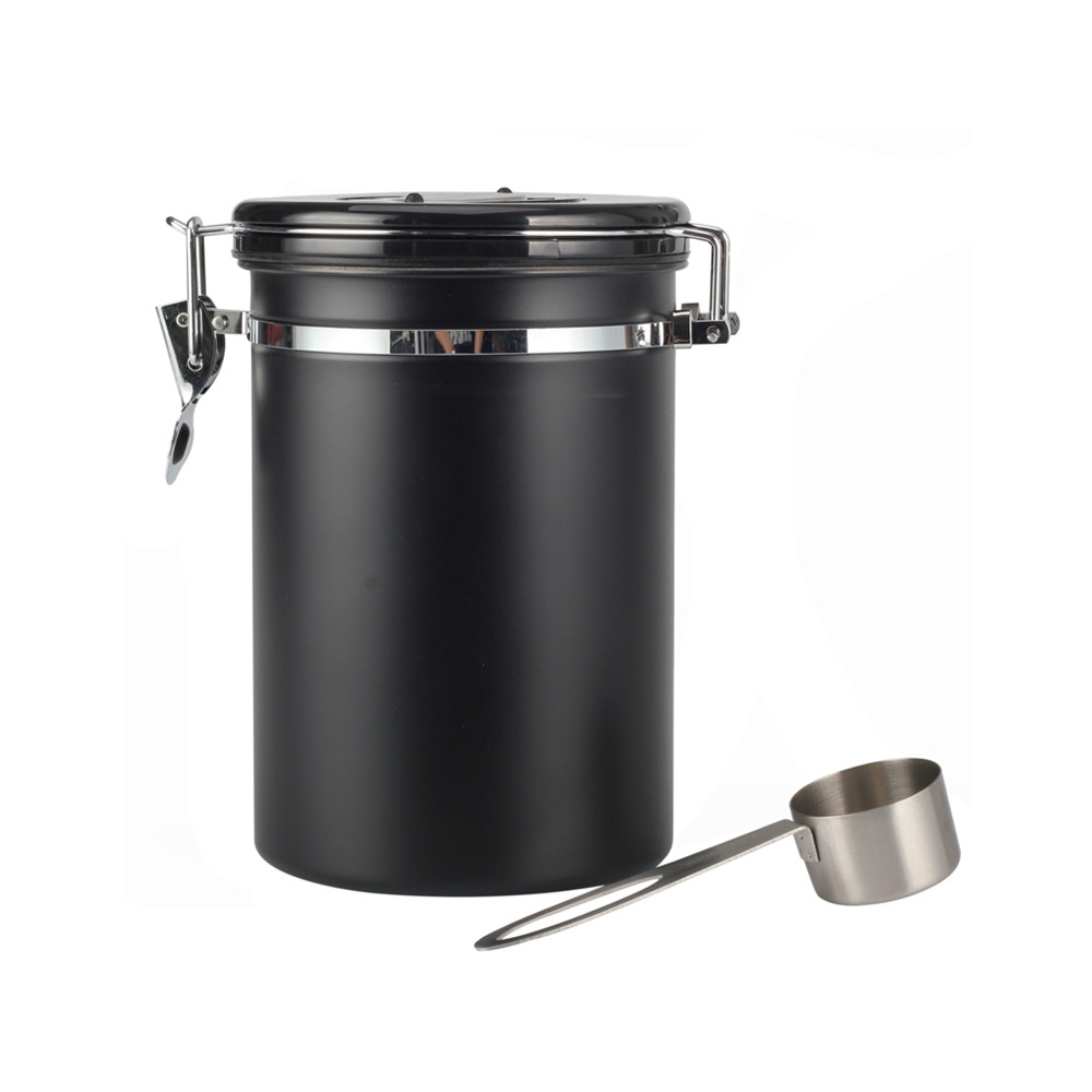 Coffee Bean Canister With Scoop