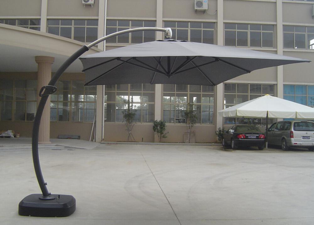 Garden Luxury Strong Cantilever Fancy Design Umbrella