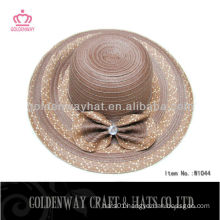 Large Floppy Straw hat women modern hats