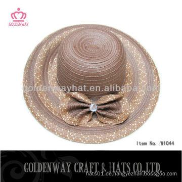 Große schlaffe Strohhut Frauen moderne Hüte