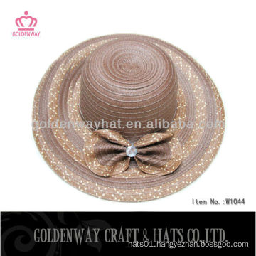 Large Floppy Straw hat women modern hats