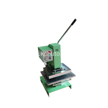 Leather impression manual hot foil stamping machine