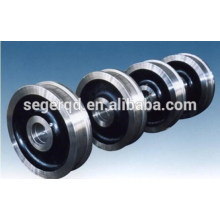 customized casting crane trolley wheels