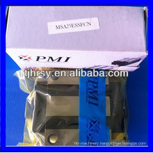 Taiwan PMI linear carriage/linear guide slide block MSA25E