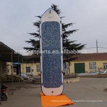 La palette gonflable de SUP de sport d'équipe géante embarque 18 pieds de paddleboard