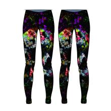 Los pantalones más nuevos del yoga del OEM para las mujeres hacen punto los pantalones de encargo del yoga desgaste caliente de la aptitud de la venta