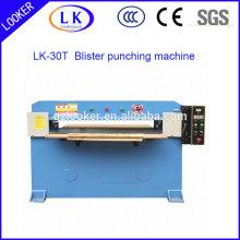 Máquina de perfuração hidráulica de alta velocidade da posse do plástico