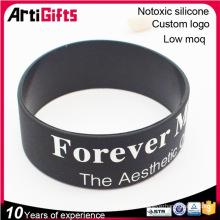 Chaîne de bracelet en gros de produit de silicone bon marché