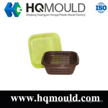 Plastic Injection Rattan Cover Basket Mould