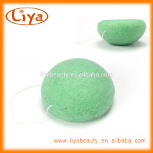 Professional Pure Konjac sponges for face cleaning in multi color