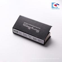 Luxe personnalisé cosmétique étiquette privée faux cils boîte de carton d'emballage