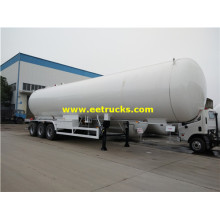 60000L 25ton semi-remorques de transport de propane