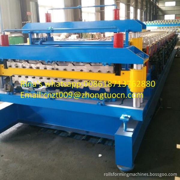 steel sheet roof sheet roll forming machine line 22