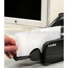 Tarjetas de limpieza para el escáner de cheques