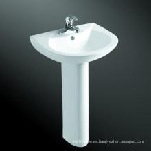 El mercado BRITÁNICO lavabo del pedestal del color blanco popular