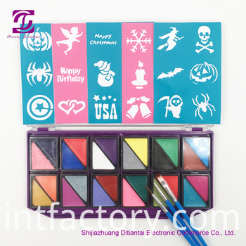 Face Paint 24 Colors