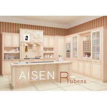 Entreposage rapide de 15-25 jours Cabinet de cuisine à membrane de haute qualité avec standard de haute qualité