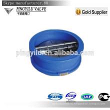 Серый чугун подпружиненный пластинчатый клапан обратного клапана низкого давления