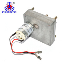 solar tracking motor low rpm with flat gearbox