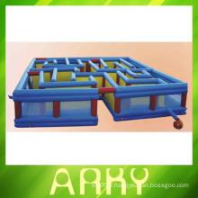 2014 nouveau labyrinthe gonflable pour enfants