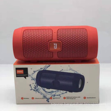 J006C Portable Sports Fm Radio Music Player Built-in Rechargeable Battery Blutooth Wireless Speaker