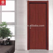 Einfache Holztür mit PVC-Holztür Inter PVC-beschichtete Holztür