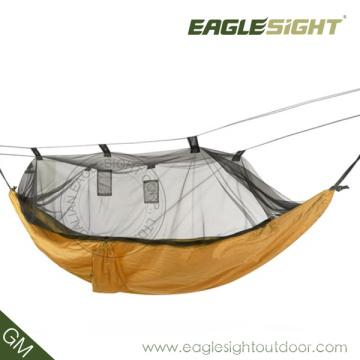 Mejor para mochilero Hamaca de paracaídas con mosquitera