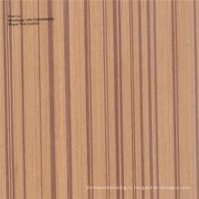 Placage en bois de placage de bois artificiel